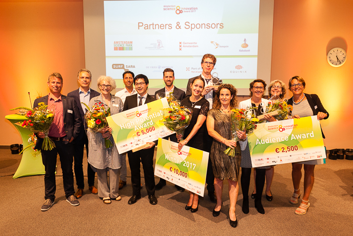 Winners Amsterdam Science & Innovation Award 2017