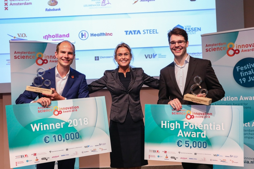 Winnaars Amsterdam Science & Innovation en Impact Awards